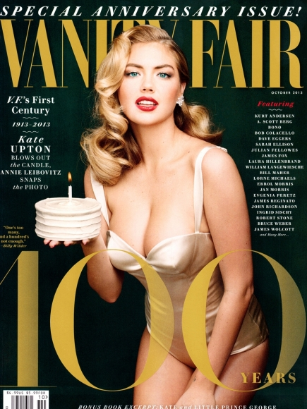 Kate Upton for 100th Anniversary of Vanity Fair