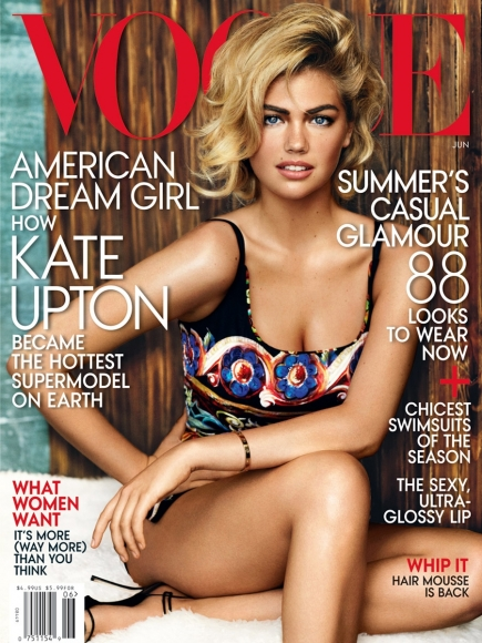 Kate Upton In Vogue Magazine June 2013