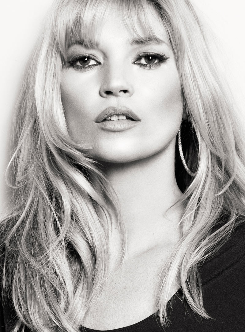 Kate Moss: Mango spring / summer 2012 ad campaign