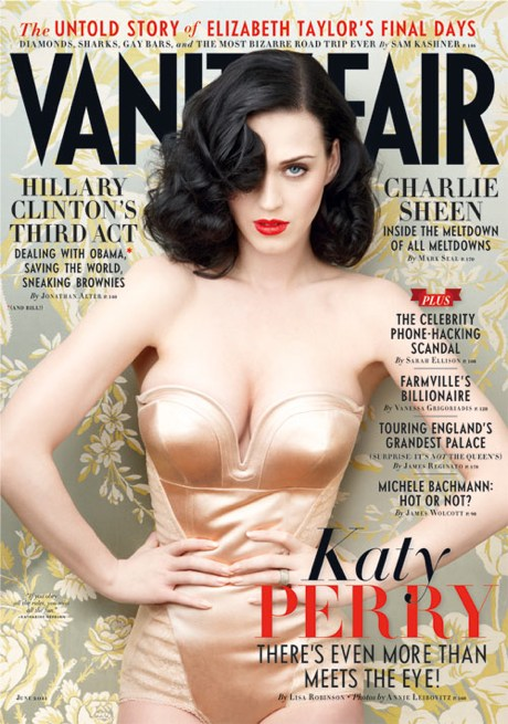 Katy Perry On Cover Of Vanity Fair – Picture