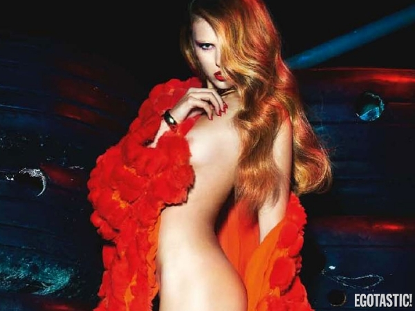 Keke Lindgard Topless Pictorial in Numero France November 2012