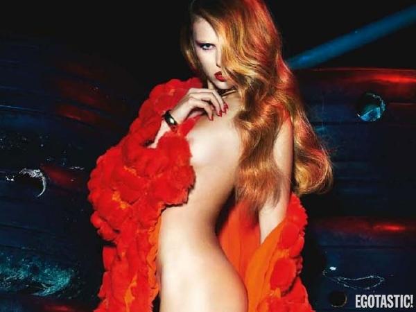 Keke Lindgard Topless Pictorial in Numero France November 2012