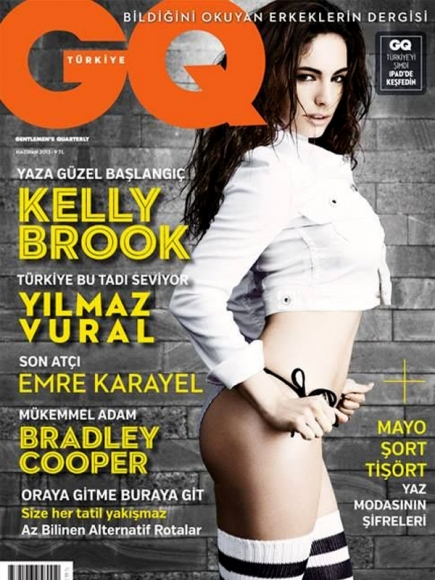 Kelly Brook In GQ Turkey June 2013