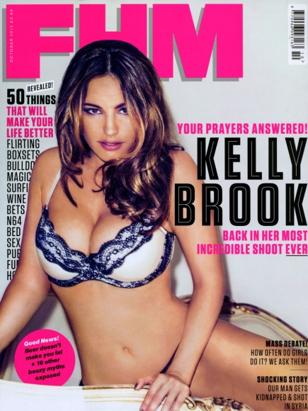 Kelly Brook for FHM