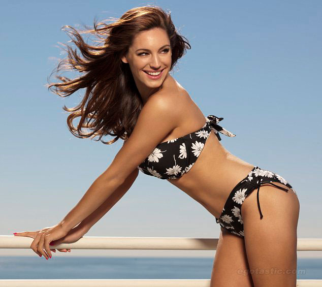 Kelly Brook For New Look Bikini Shoot