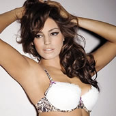 Kelly Brook Wears The Ultimo Bra Bumper In Pictures