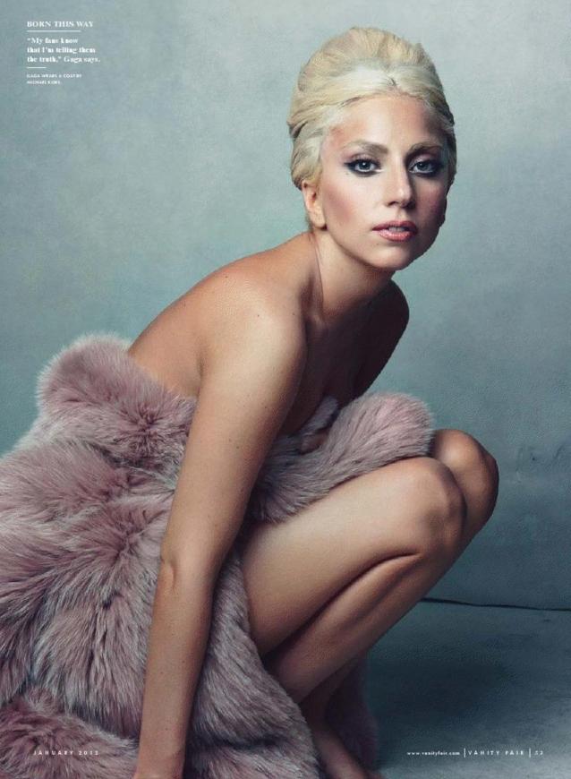 Lady Gaga: Vanity Fair January '12 (NSFW)