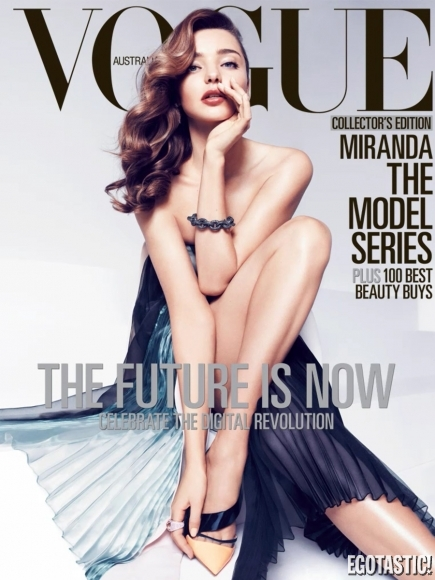 Miranda Kerr Super Hot in Vogue Australia April 2013