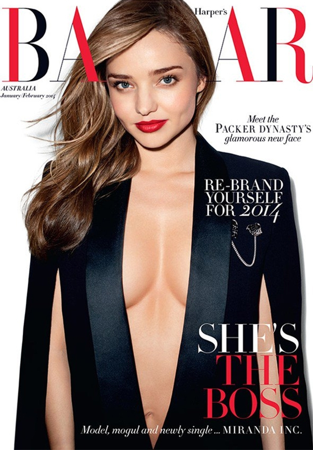 Miranda Kerr Shot Topless by Terry Richardson for Harpers Bazaar Australia