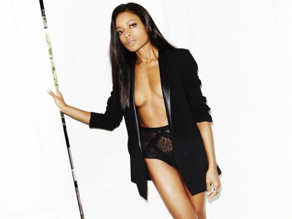 Naomie Harris Super Sexy in Esquire UK Magazine January 2014