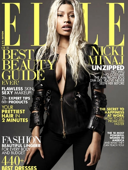 Nicki Minaj in Elle Magazine April 2013