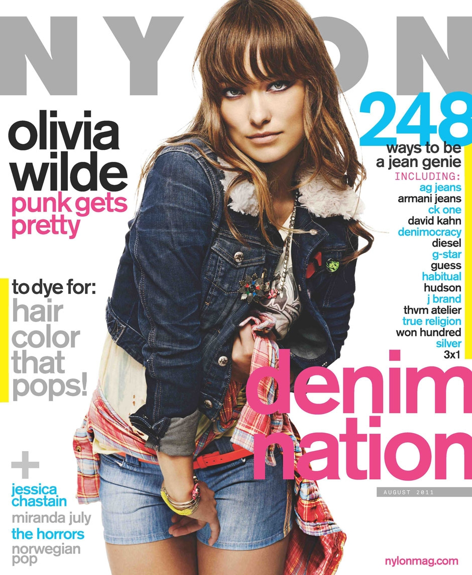 Olivia Wilde For Nylon August '11 – Pictures