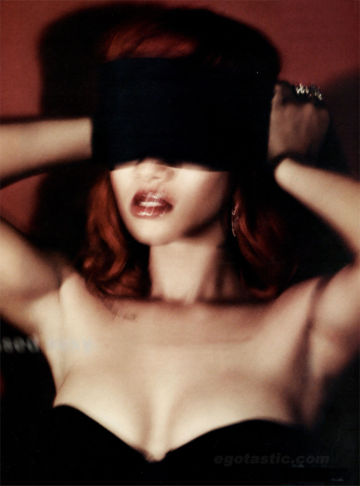 Rihanna In Sexy Shoot For GQ
