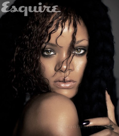 Rihanna (Covered Naked) In Esquire As They Vote Her Sexiest Woman of the Year
