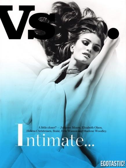 Rosie Huntington-Whiteley in VS. Magazine