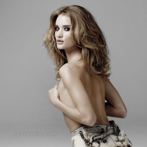 Rosie Huntington-Whiteley (Topless) In DT Magazine Spain