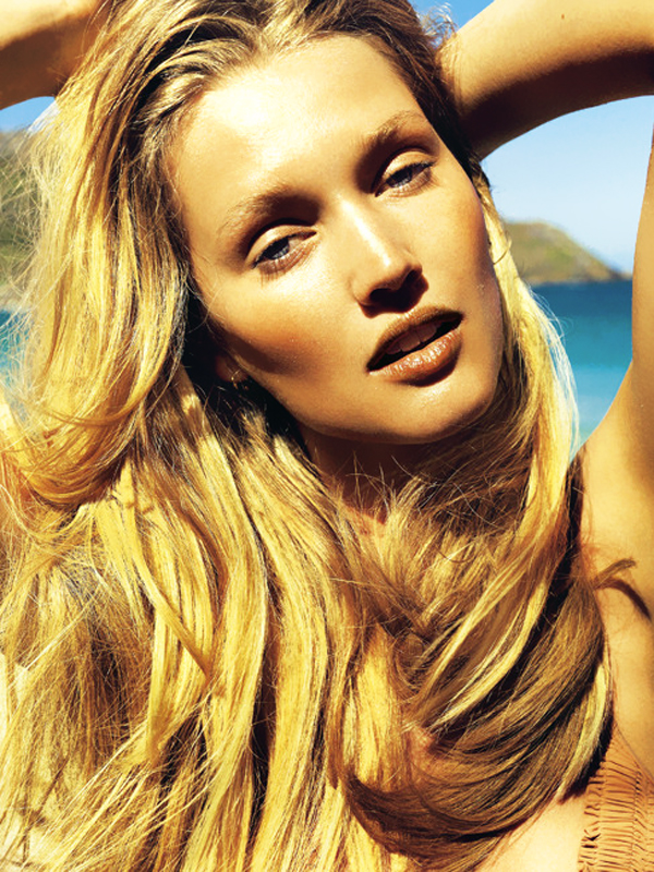 Toni Garrn Topless in Madame Lefigaro 2013 Photoshoot