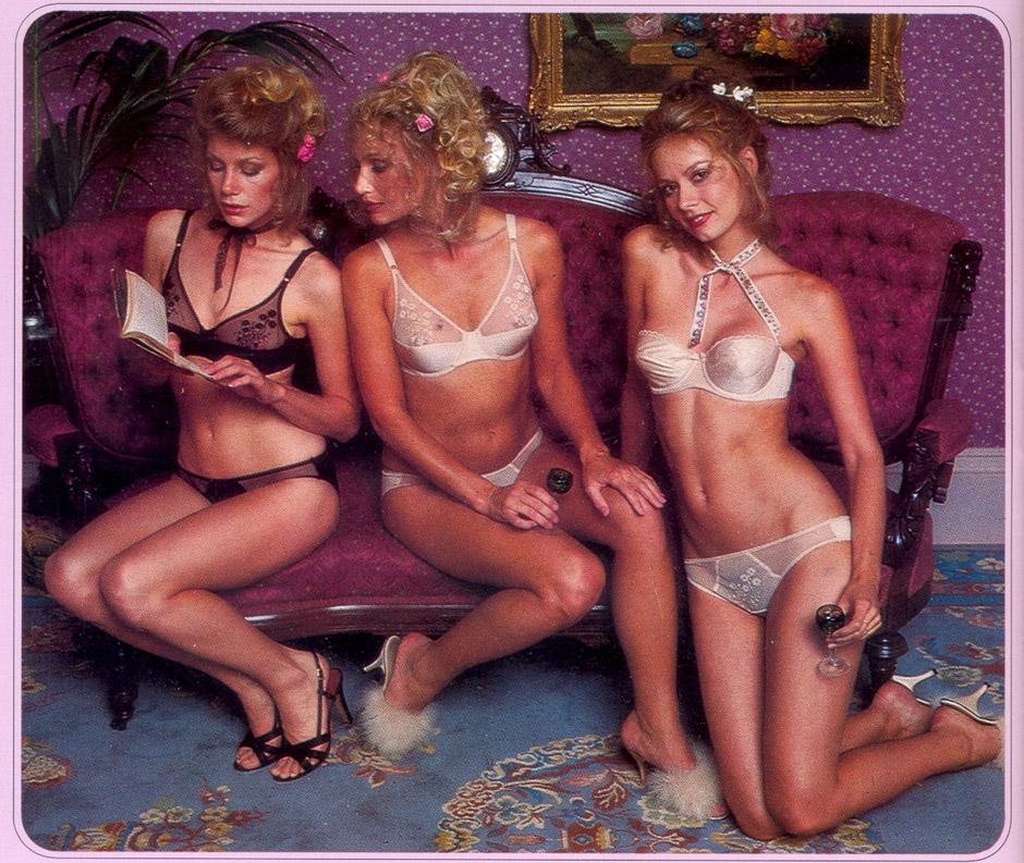 70s erotica? No, it's vintage Victoria's Secret